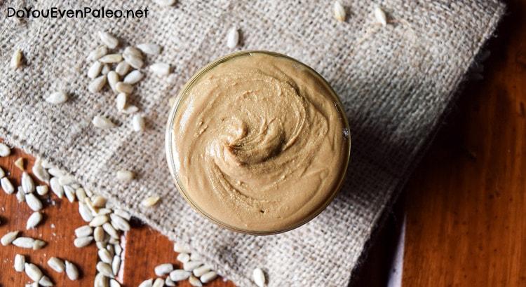 Homemade Sunflower Seed Butter | DoYouEvenPaleo.net