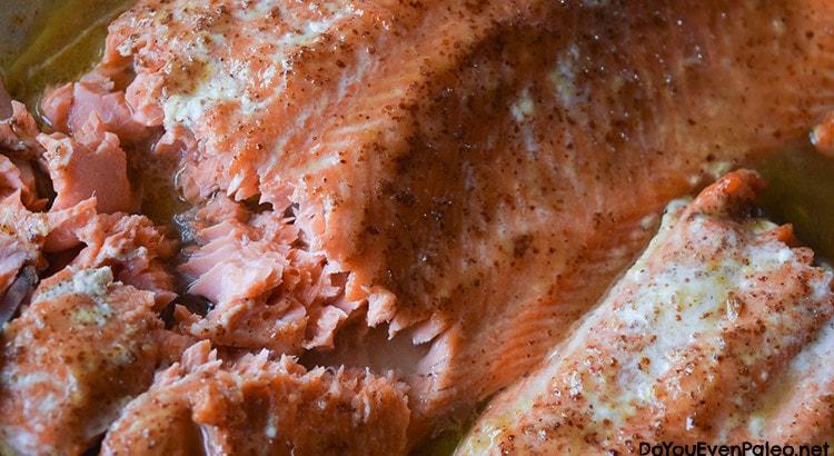 Maple Mustard Salmon   DoYouEvenPaleo.net