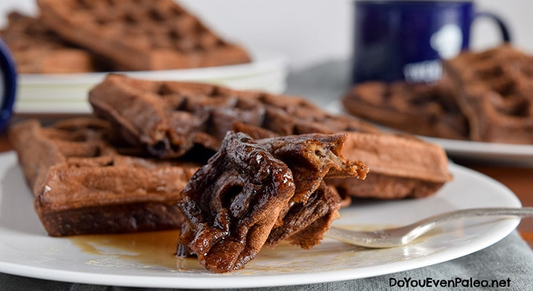 Banana Waffles (nut free) | DoYouEvenPaleo.net