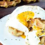 Mashed Potato Waffles | DoYouEvenPaleo.net