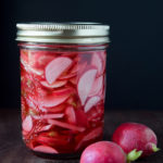 How to Make Garlicky Quick Pickled Radishes | DoYouEvenPaleo.net