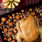 Roast Chicken with Apple-Carrot Mash | DoYouEvenPaleo.net