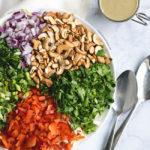 Thai Cabbage Salad with Sunbutter Dressing | DoYouEvenPaleo.net