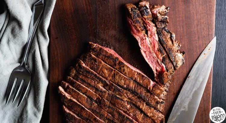 Cardamom Coffee Rubbed Steak | DoYouEvenPaleo.net