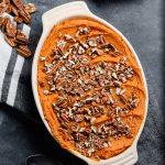 Whole30 carrot & sweet potato casserole