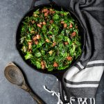 Skillet Collard Greens with Ham Recipe